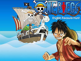 One Piece powerpoint ppt grid selection game