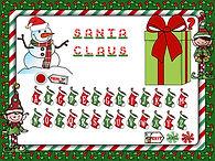 Christmas hangman powerpoint Lesson