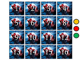 spider-man powerpoint ppt memory match game