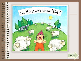 boy who cried wolf ESL powerpoint ppt story