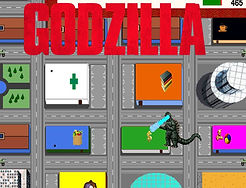 Godzilla English ESL directions and places compuer game