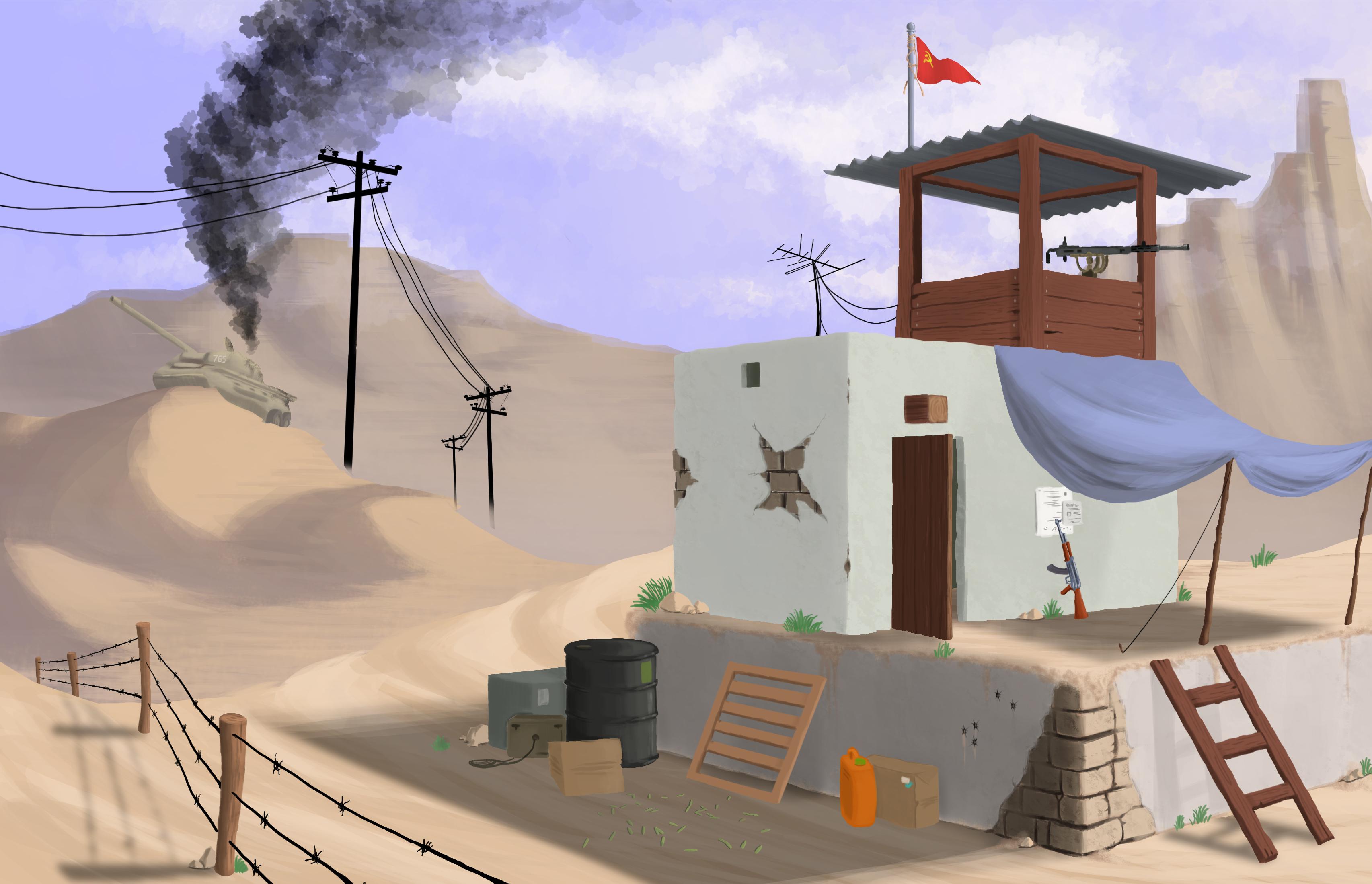 Exterior Environment Concept