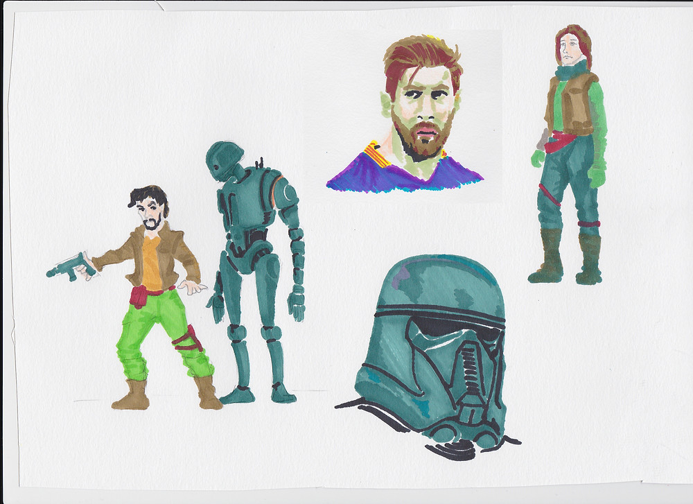 Rogue One Markers
