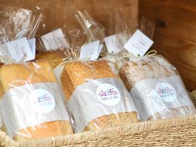 Close em nossos pães funcionais