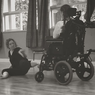 Tiffany improvises with Luka in the studio