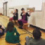 Erin & Tiffany in school.jpg
