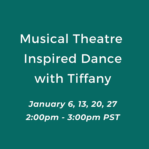 Musical Theatre Inspired Dance