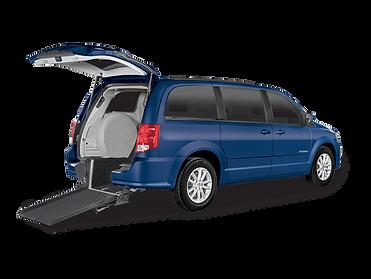 An accesible mini van