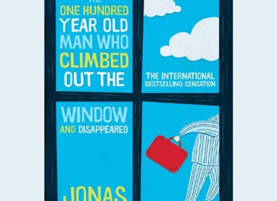 The hundred year old man who climbed out of the window and disappeared.