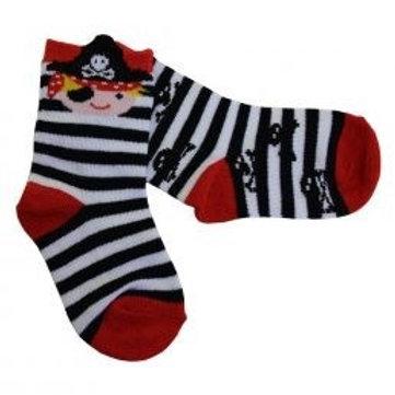 Sanau môr leidr / Pirate socks (6-12m)