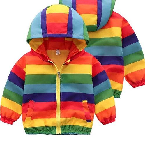 Siaced Enfys / Rainbow Jacket