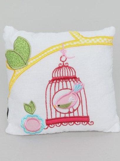 Clustog Adreryn / Birdcage cushion (20x20cm)