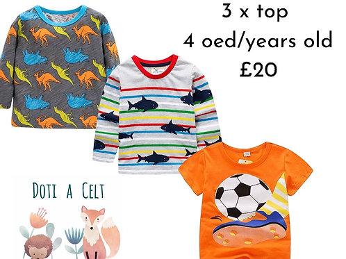 Set 3 oed/year old set