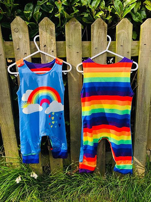 Rainbow (defnydd sgleiniog/shiny material)