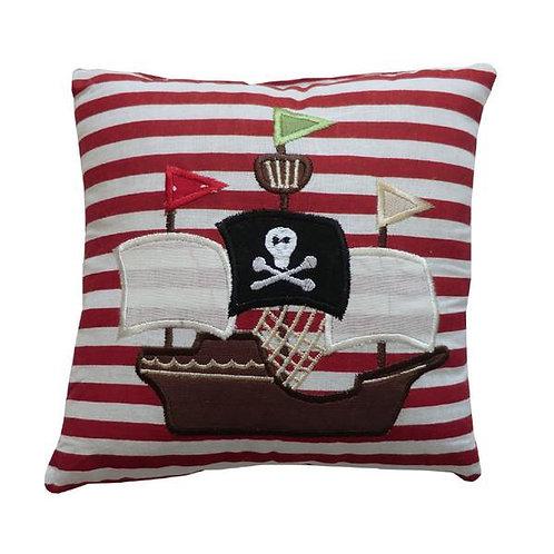 Clustog Môr leidr / Pirate cushion (20cmx20cm)