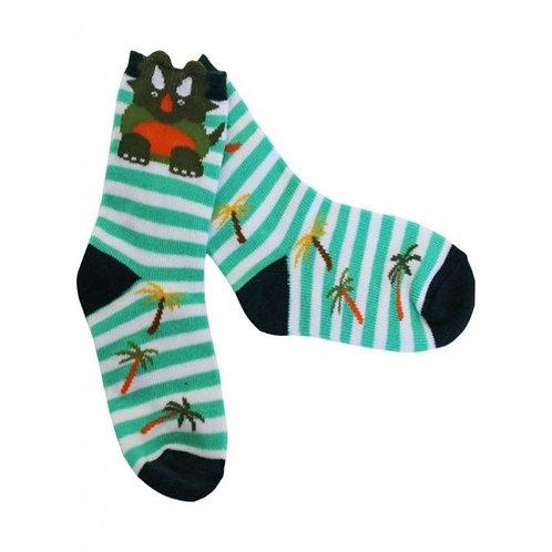 Sanau deino / Dino socks (0-6m)