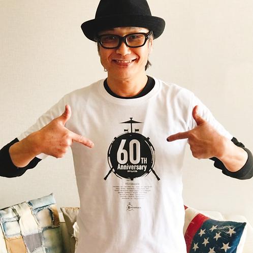 RYOJI還暦記念公演Tシャツ・ドラムロゴVersion