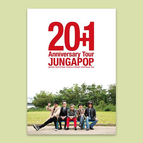 JUNGAPOP<20+1周年記念パンフレット>