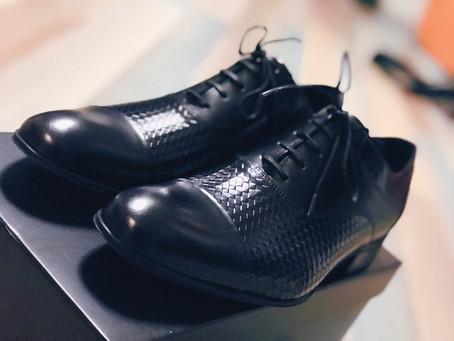 おニューの靴!
