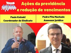 LIVE - 24/06, 15h: AS AÇÕES DA PREVIDÊNCIA NO STF E A REDUÇÃO DE VENCIMENTO DOS SERVIDORES