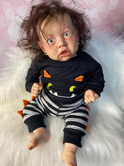 Saskia by Bonnie Brown, custom Saskia, toddler reborn doll, popular reborn, Auth