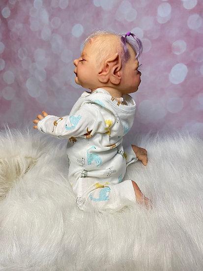 Janus Wegerich, Two Faced Reborn, Fantasy Doll, Alternative, Preemie, OOAK, Demo