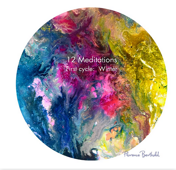 Book 12 Meditations First cycle:Winter by Florence Berthold