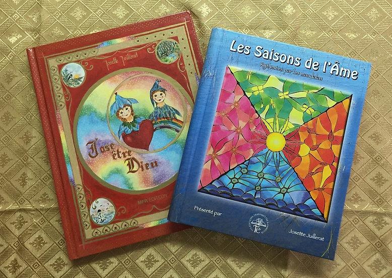 Combo: 2 livres de Josette Juillerat