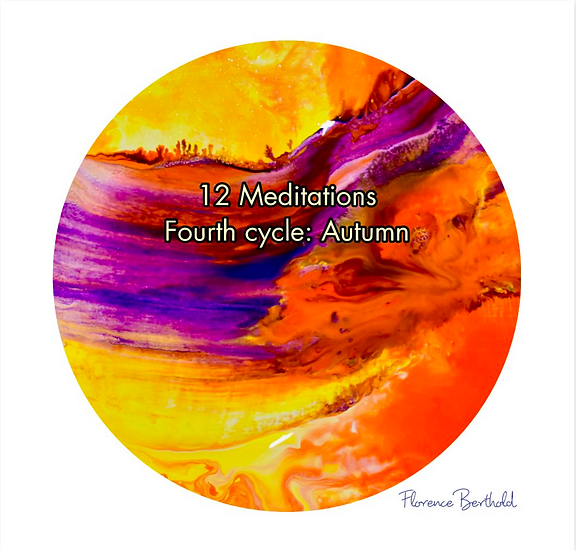 Book 12 Meditations Fourth cycle: Autumn by Florence Berthold