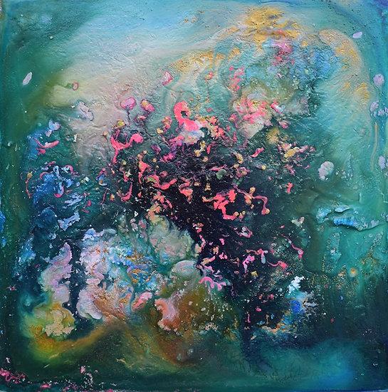 Âme Guérison 200-241118 - La danse des flamands roses