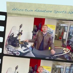 Africa Twin Adventure sports 2019