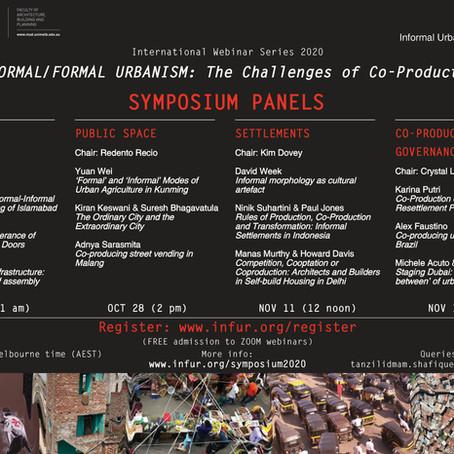 Informal/Formal Urbanism Symposium