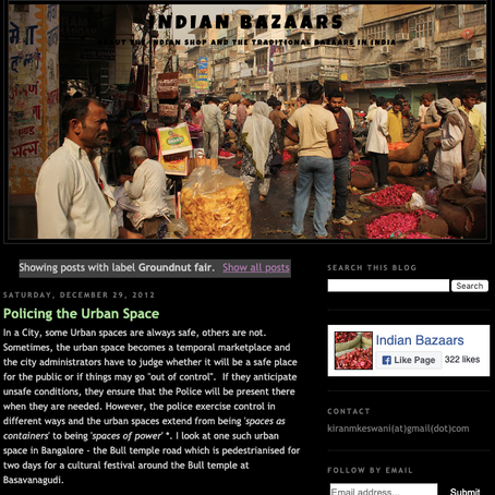 Marketplaces, Urban Informality and the Everyday