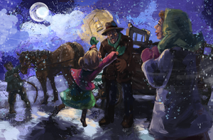 Papa is Home on Christmas Eve by Traci Van Wagoner