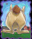 Animal Parade Rabbit Backside