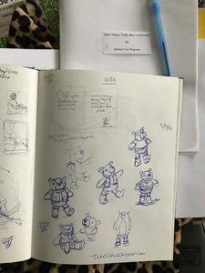 Character development sketches