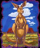 Animal Parade Kangaroo Front