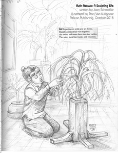 Ruth Asawa picture book biography sketch by Traci Van Wagoner