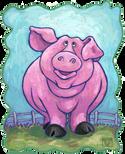 Animal Parade Pig Head