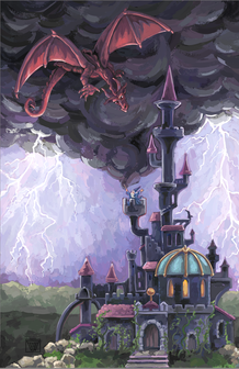 Dragon Castle by Traci Van Wagoner