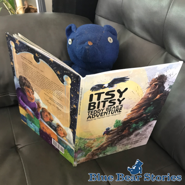 Blue Bear Approved Itsy Bitsy Teddy Bear's Adventure