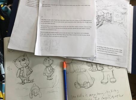 Progress Made on Teddy Bear's Adventure