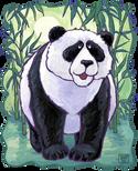 Animal Parade Panda Bear Head