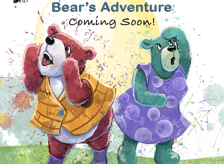 Itsy Bitsy Teddy Bear's Adventure is Off to Press