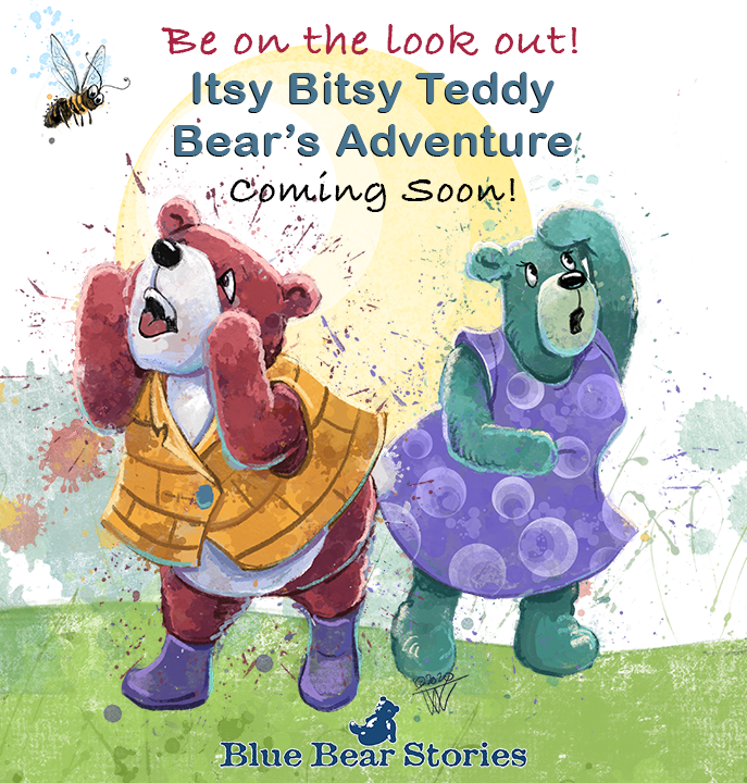 Coming Soon! Itsy, Bitsy Teddy Bear Willie