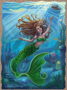 Mermaid by Traci Van Wagoner