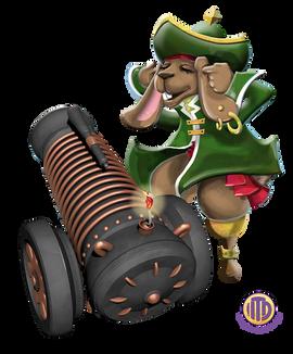 ITD Rabbit Pirates Fance Pants Cannon.pn