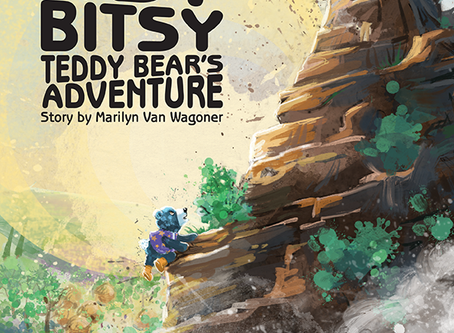 Cover Reveal: Itsy Bitsy Teddy Bear's Adventure