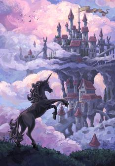 Unicorn Castle by Traci Van Wagoner