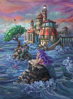 Mermaid Castle by Traci Van Wagoner